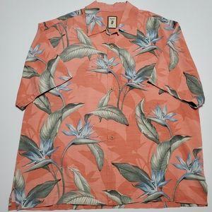 Jamaica Jaxx Floral Birds of Paradise 100% Silk